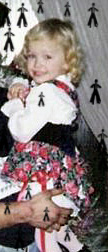 Stephanie at 2 years old by EmpressEliana