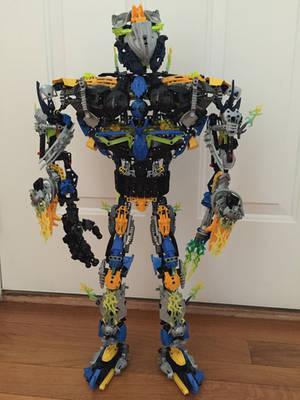 Bionicle Titan lightningrod by Brickgenius27