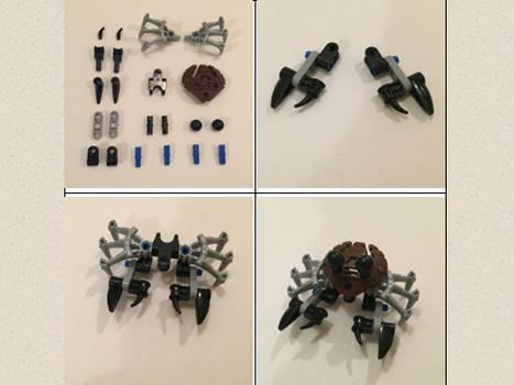 Bionicle Crab Instructions
