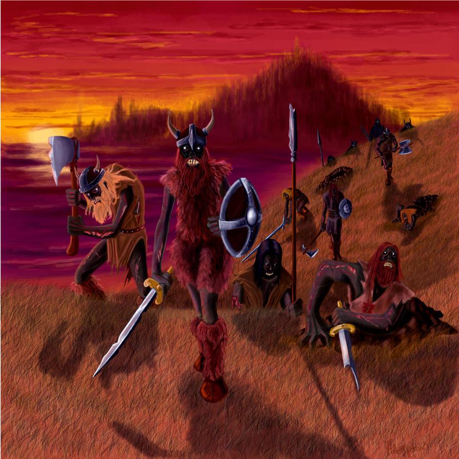 Zombie Horde Art Viking Zombie H...