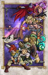 Chrono Trigger Print