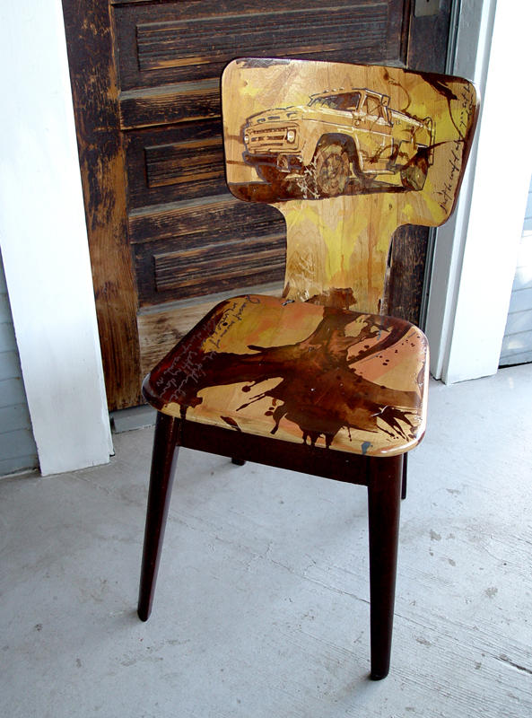 Truck Chair by Dtellesen