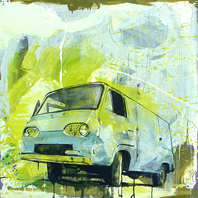 Ford Van 001 by Dtellesen
