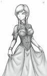 Frozen Anna Sketch
