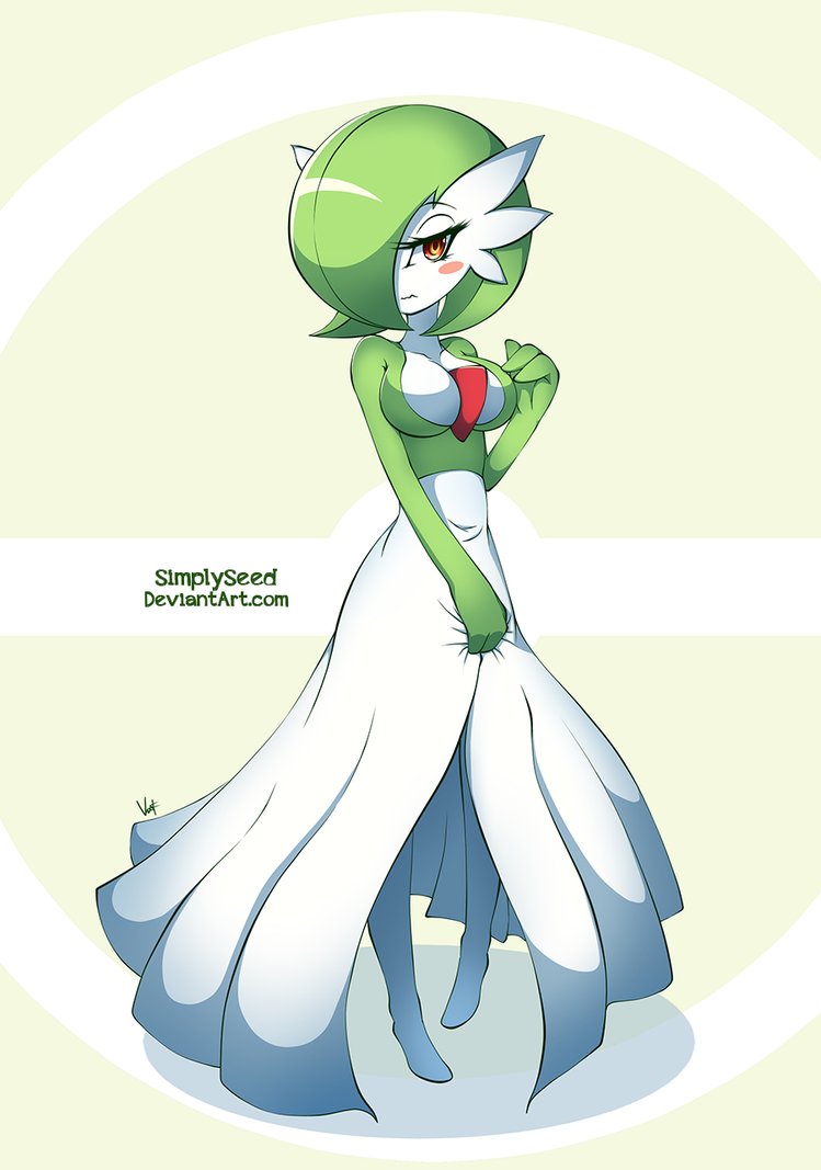 Pokemon: Gardevoir by SimplySeed