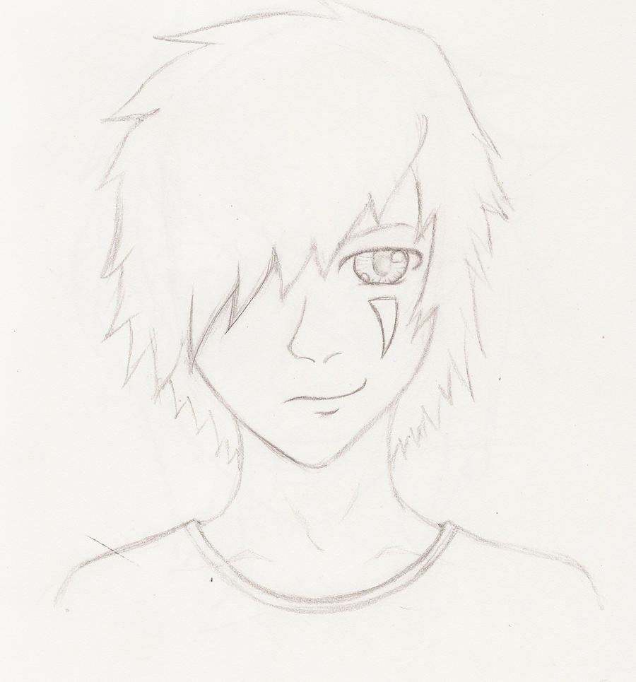 Random Anime Guy Face By Theartisticotaku On Deviantart How To Draw