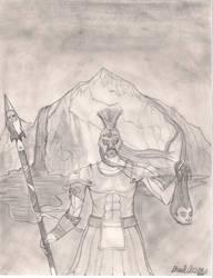 Roman War God by Kyokono-Bade