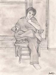 Self Portrait by Kyokono-Bade