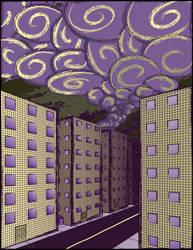 City Haze by Kyokono-Bade