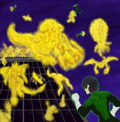 Green Lantern Corp: Kyle Rayner vs Alexander Nero by Kyokono-Bade
