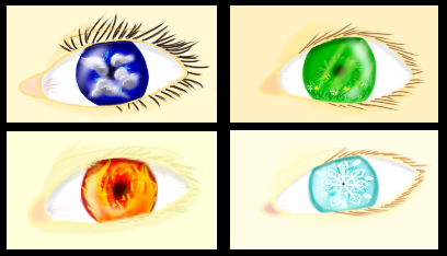 Eyes of the Elements by AnotherDerpyRedhead