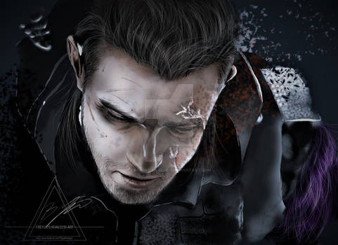 The last moments of NYX ULRIC KINGSGLAIVE