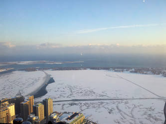 view from CN Tower by wildezip