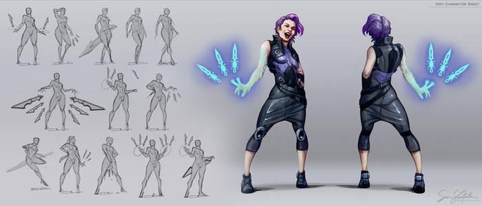 Inks - Character Sheet