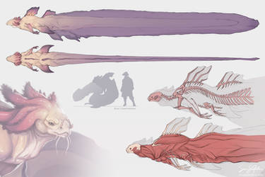 Mermaid Anatomy by SamSantala