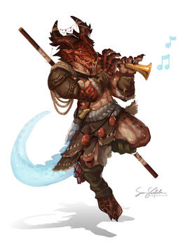 Faeraxx  - Dragonborn Bard
