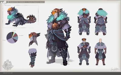 MH:World - Donkestra Armour (Male) by SamSantala