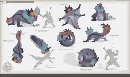 MH:World - Donkestra Animation Sheet