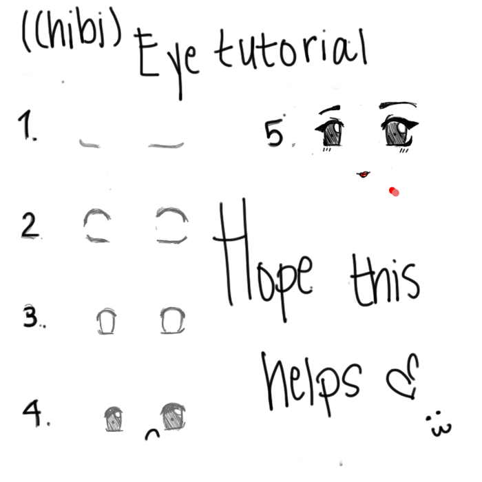 how to draw chibi meoth