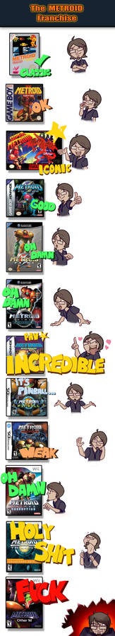 My Relationship with The METROID Franchise