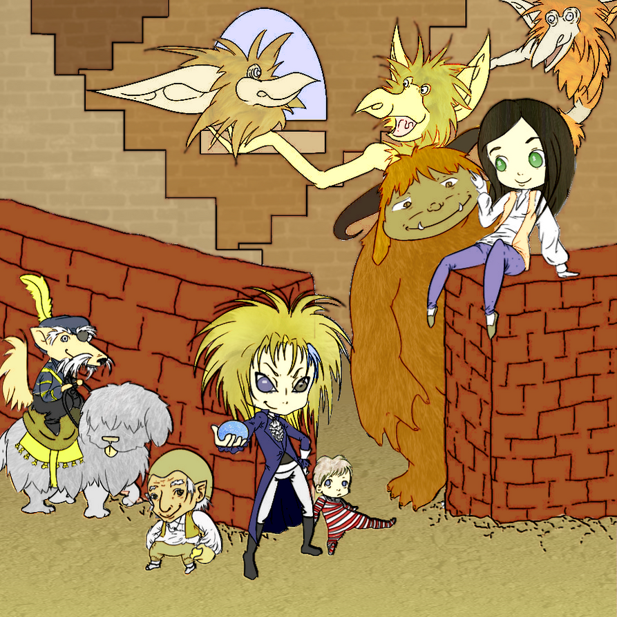 Labyrinth Doodle Colored by Synessa
