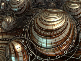 Spheres and Circles by CyrilleGuedon