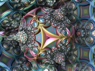 Fractal Octahedron by CyrilleGuedon