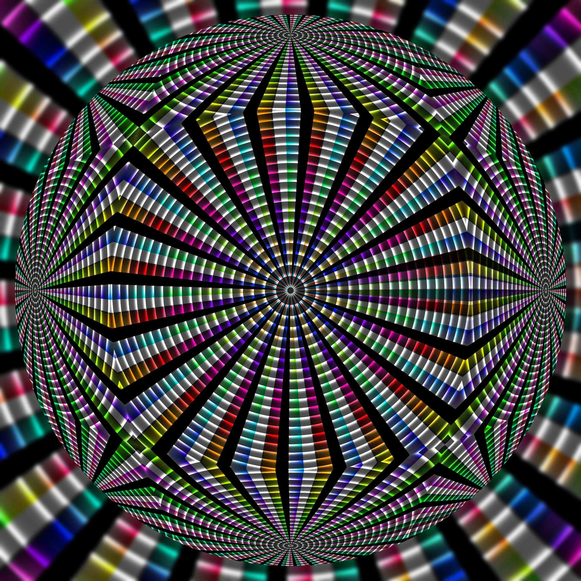 Abstraction of Colors