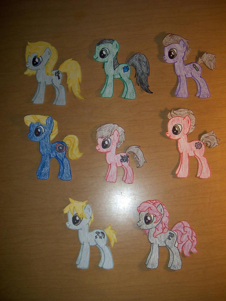 Avengers Ponies