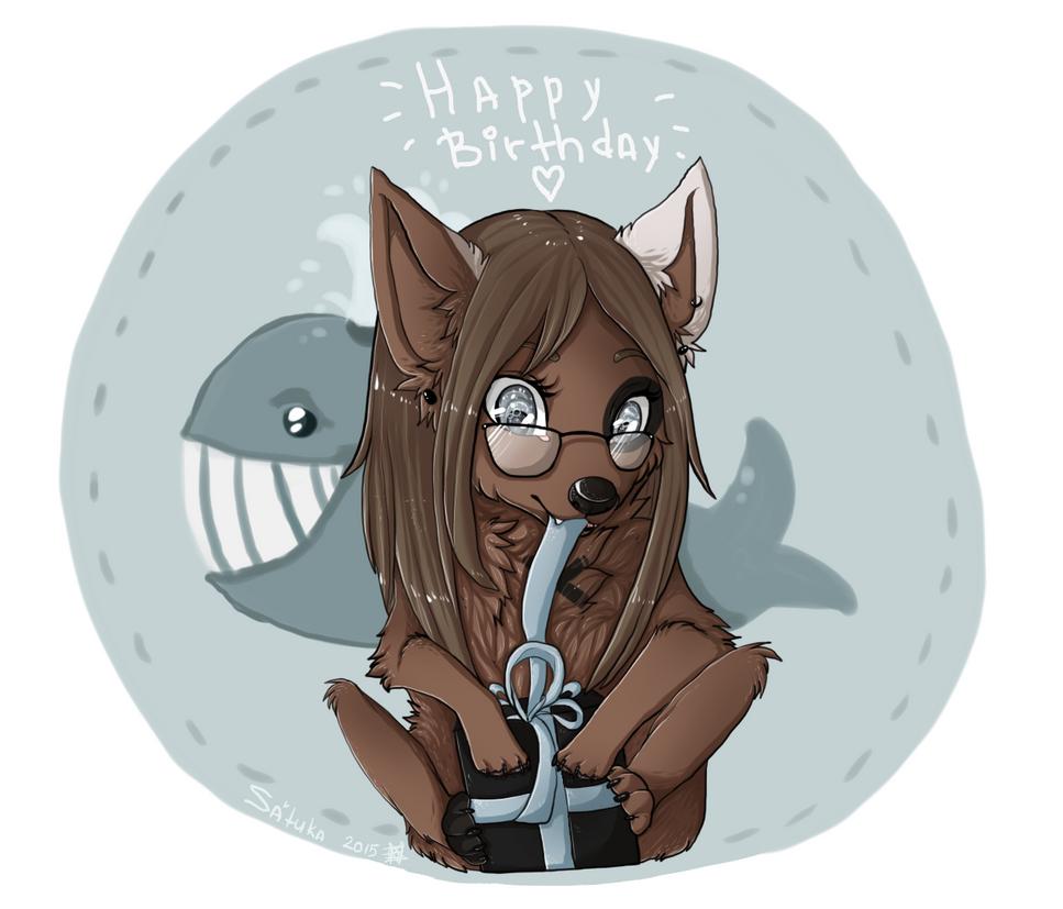 happy birthday honorius by Satuka