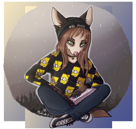 reading by Satuka