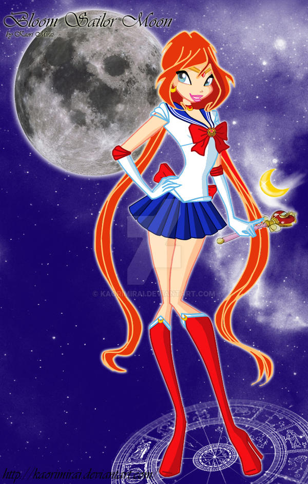 Bloom Sailor Moon by KaoriMirai