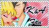 Kaori and Alex Fan Stamp by KaoriMirai