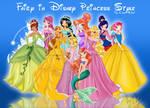 Fairy in Disney Princess Style