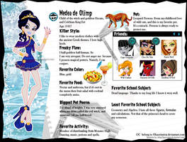 Monster High-Medea De Olimp by KaoriMirai