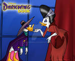 Darkwing Duck and Morgana