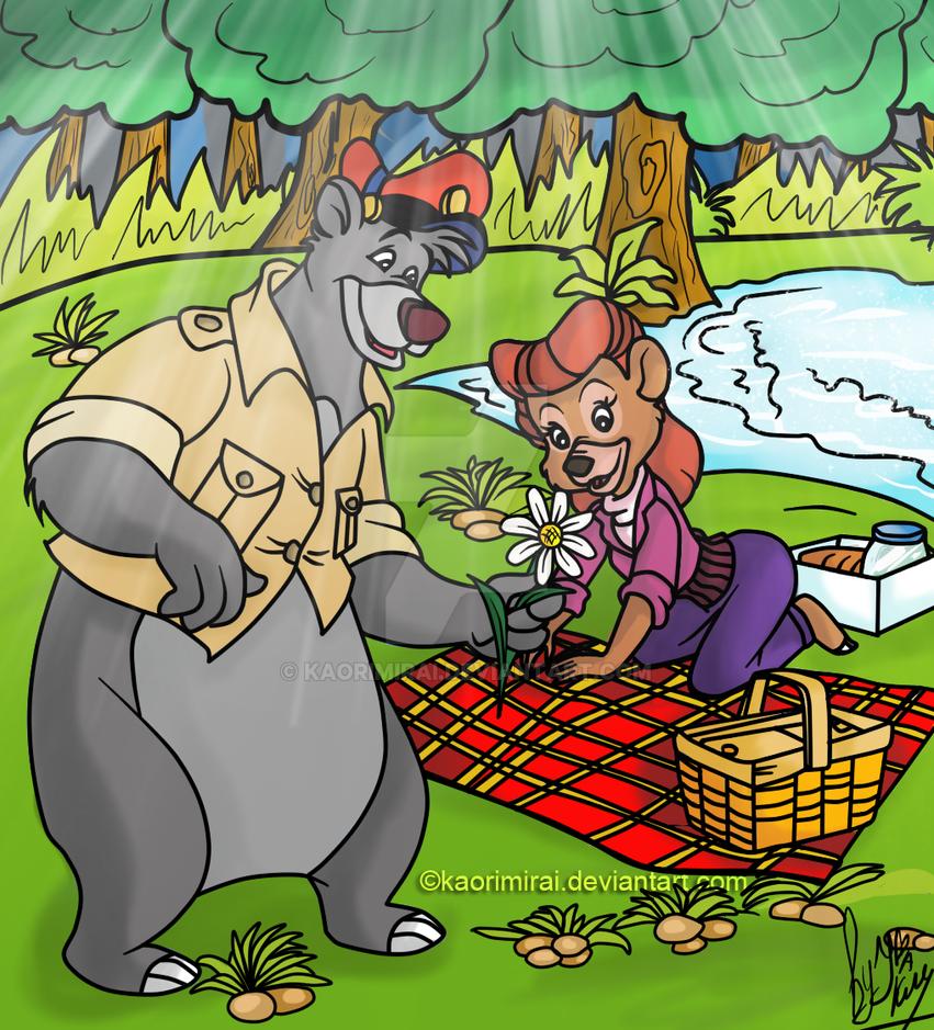 Tale Spin+Baloo and Rebecca+ by KaoriMirai