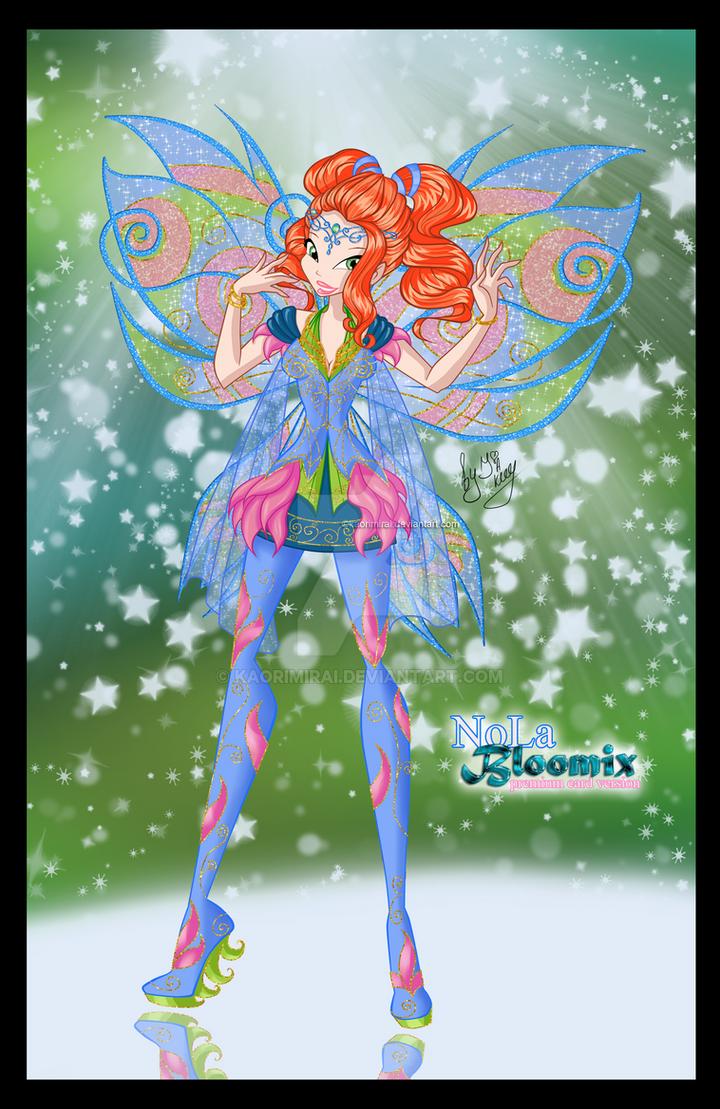 NoLa Bloomix Card by KaoriMirai