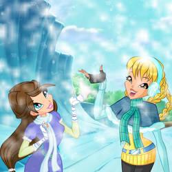 Winter Collab: Natalie And Kaori