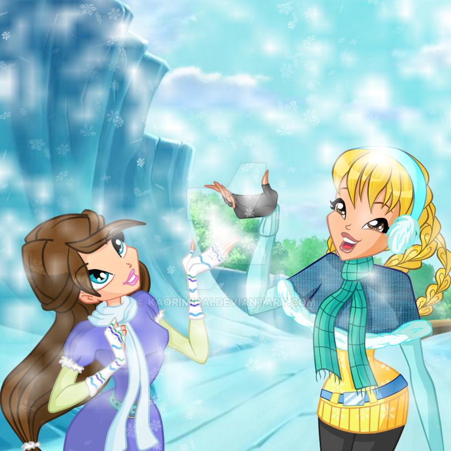 Winter Collab: Natalie And Kaori by KaoriMirai
