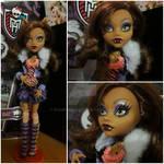 My little doll collection - Clawdeen Wolf by KaoriMirai