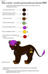 Random Lion MeMe by Teazerkitt