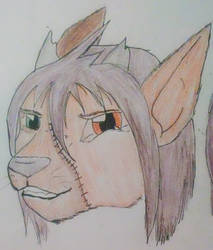 Oryx head by Teazerkitt