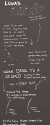Drawing Drool Tips by Lunafex