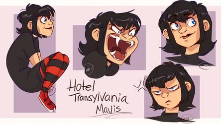 Hotel Transylvania Mavis by MissArtsyy