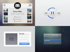 UI Goodies #1 (+PSDs) by jonarific