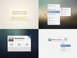 UI Goodies #2 (+PSDs) by jonarific