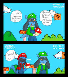 mushroom problem! by drey-the-wolf