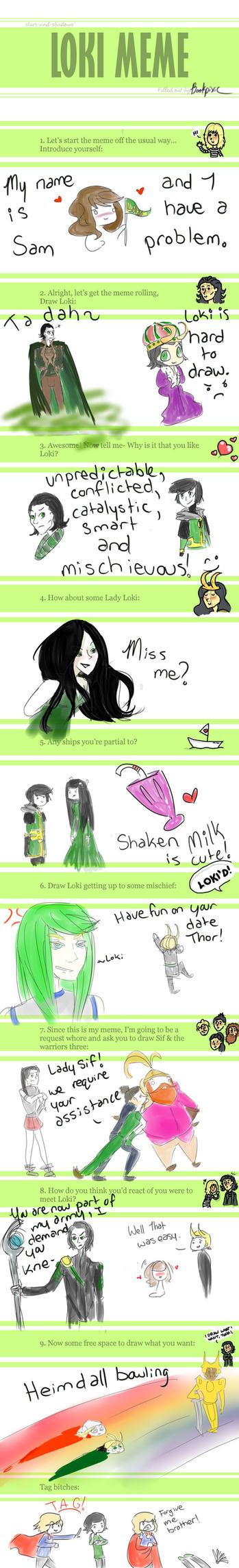 Loki Meme by bookpixie