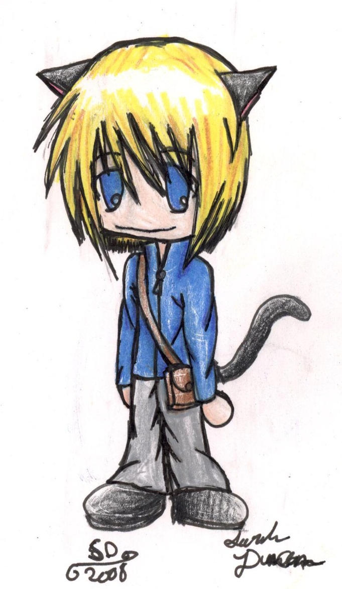 Chibi Neko Boy by RenoxofxthexTurks on DeviantArt